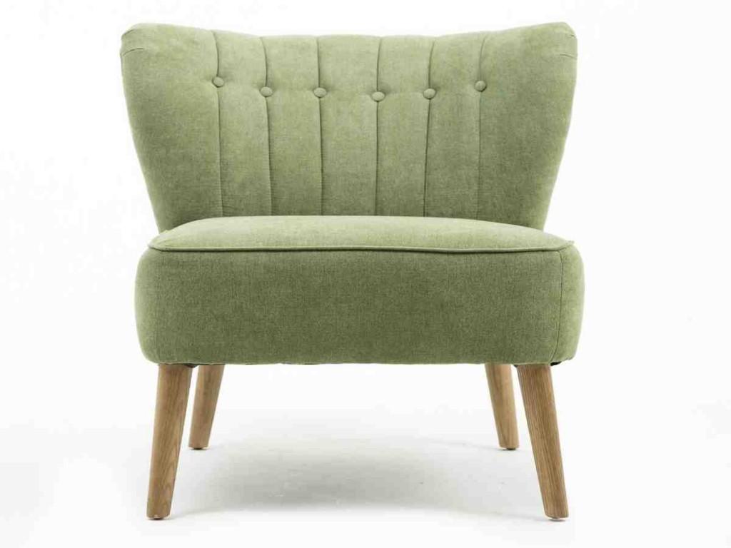 Armless Club Chair