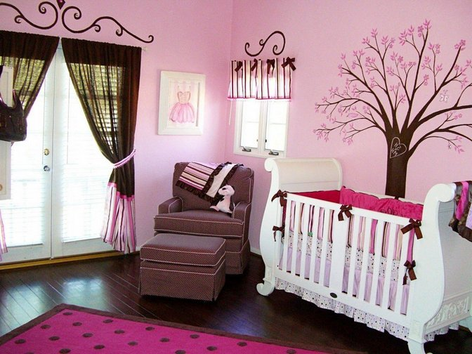Baby Girl Room Decoration Ideas