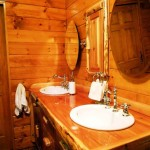 Cabin Bathroom Decor