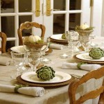 Formal Dining Room Table Setting Ideas