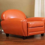 Orange Club Chair