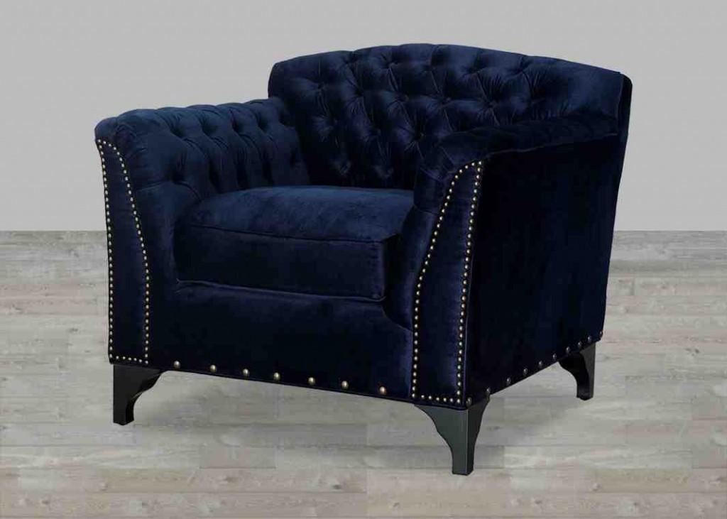 Velvet Club Chair