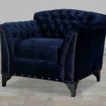 Velvet Club Chair
