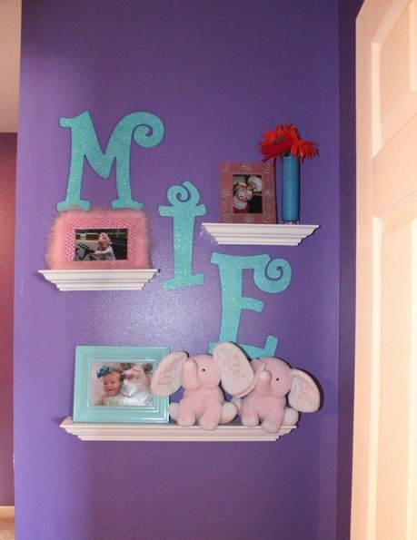 Wall Decor For Little Girl Room