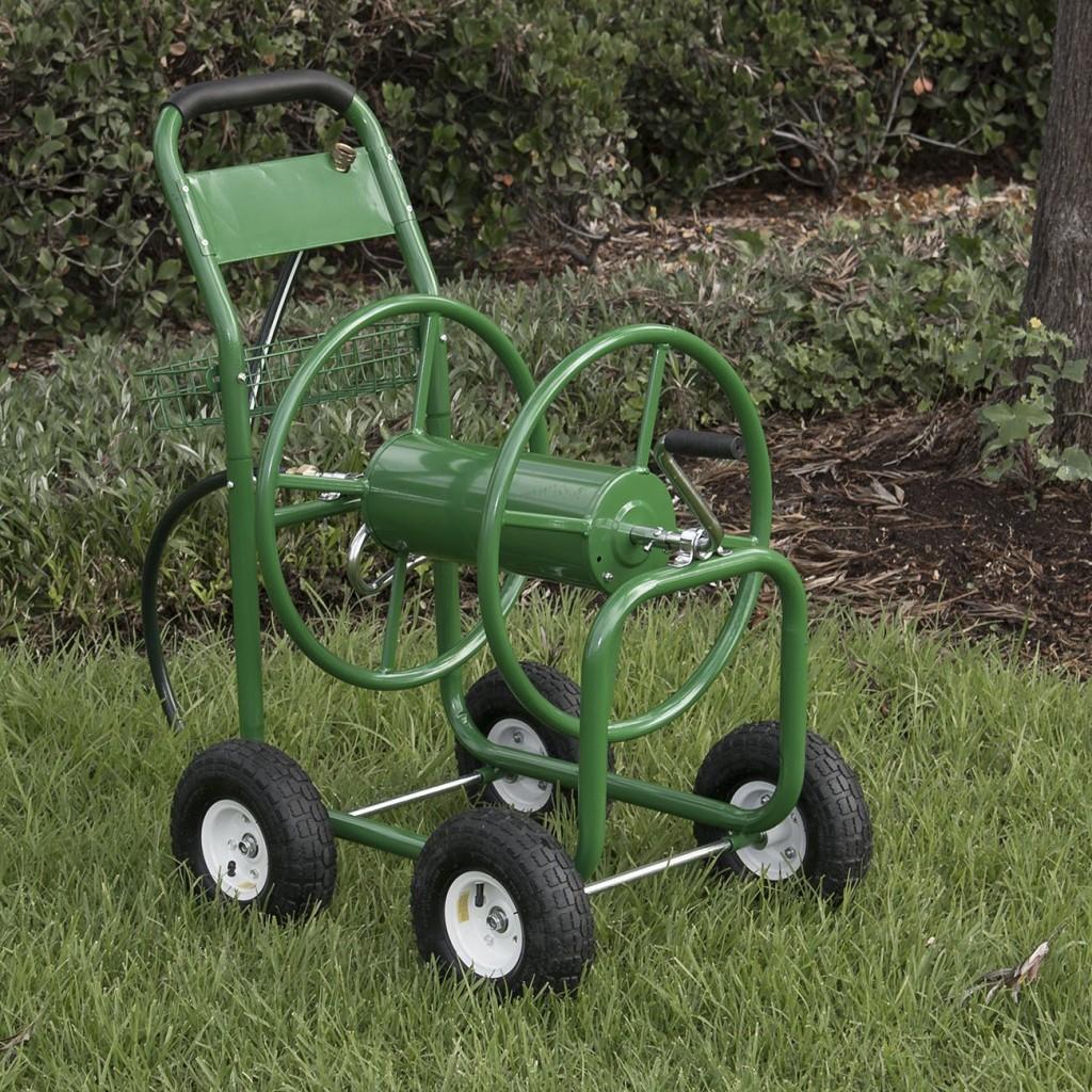 4 Wheel Hose Cart