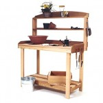Cedar Potting Table