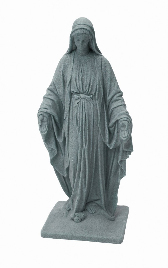 Concrete Mary Statue Outdoor