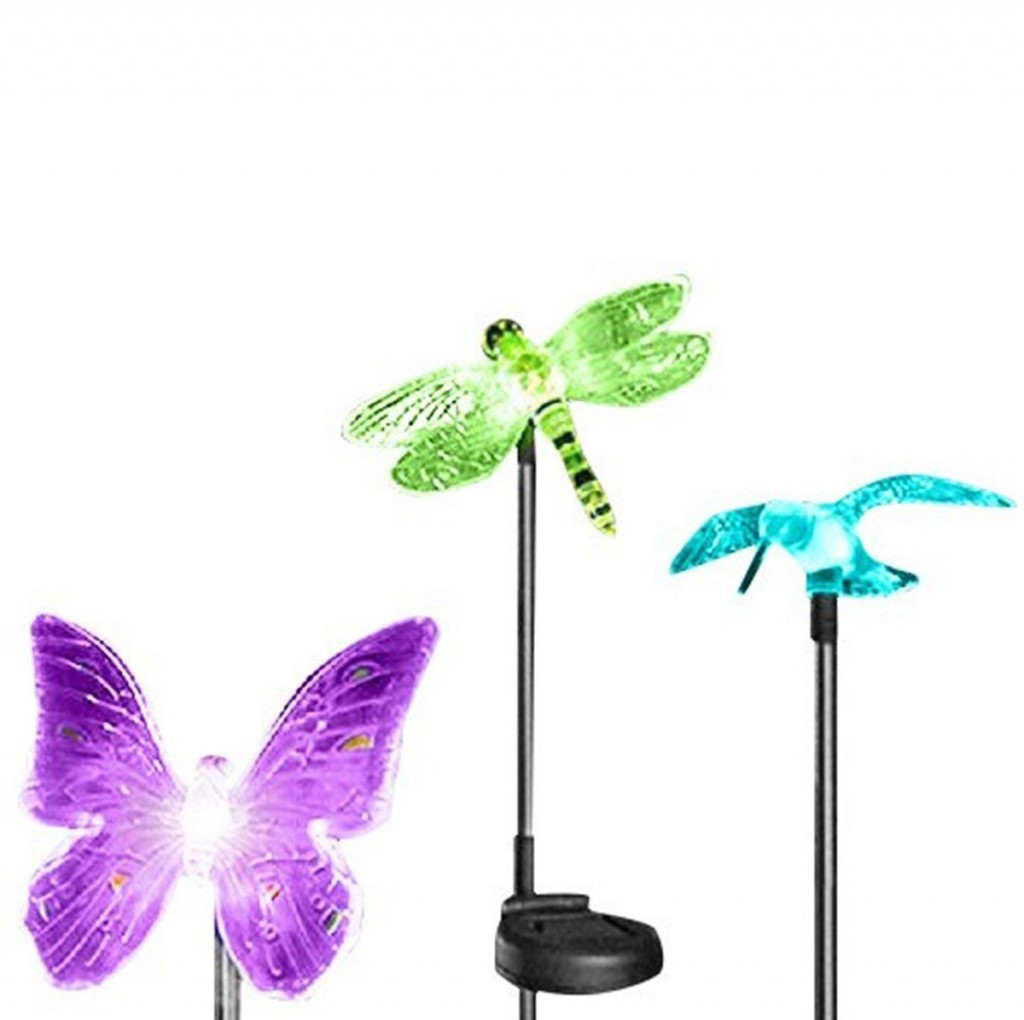Dragonfly Garden Stakes