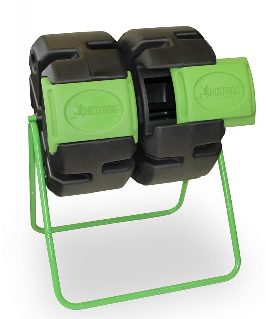 Dual Compost Tumbler