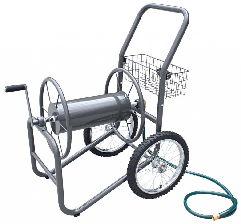 Garden Hose Cart With Wheels