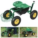 Gardening Cart With Seat