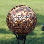 Gazing Ball Stand Ideas