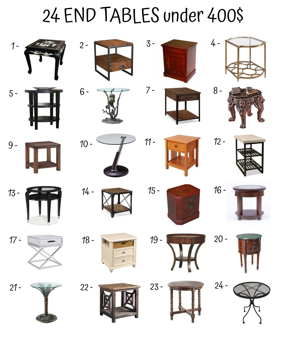 End Table Under 400