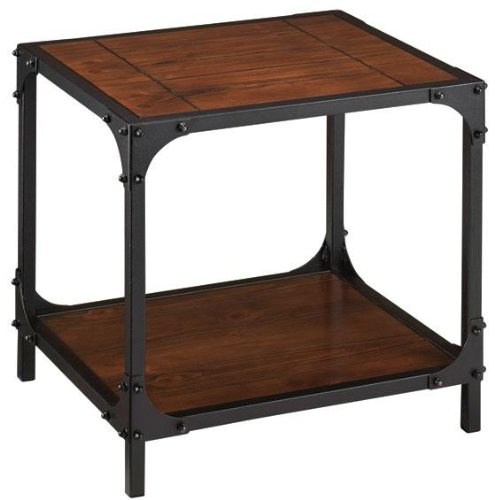Industrial Empire End Table