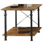 Industrial Style End Tables