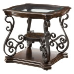Traditional End Table