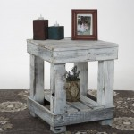 Barnwood End Tables