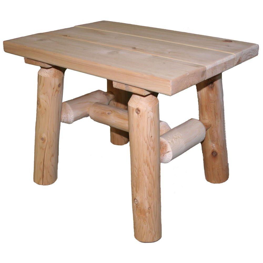 Cedar End Tables