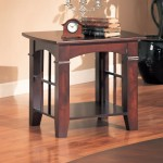 Cherry Wood End Tables