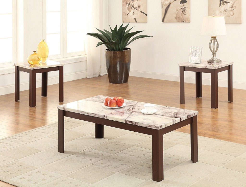 Coffee Table And End Table Set