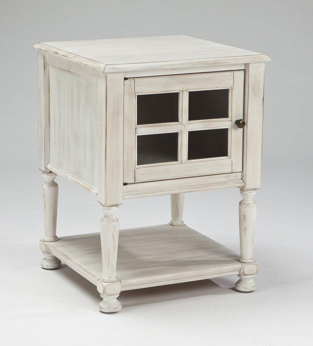 Distressed White End Tables Decor Ideasdecor Ideas