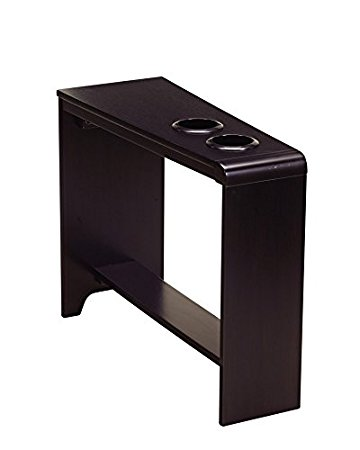 End Table With Cup Holder
