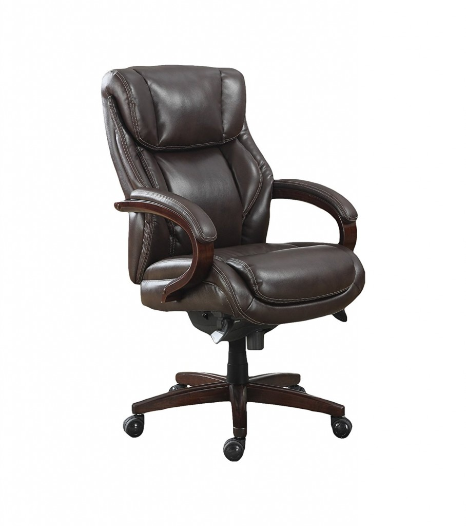 Executive Office Chairs Leather Wood