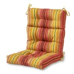 Garden Chair Cushions With Backs