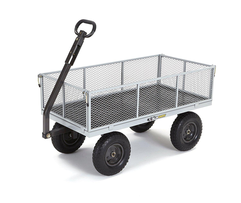 Gorilla Carts Heavy Duty Utility Cart Decor Ideasdecor Ideas