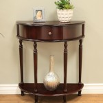 Half Moon End Table