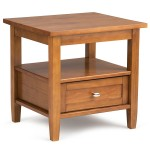 Light Wood End Tables
