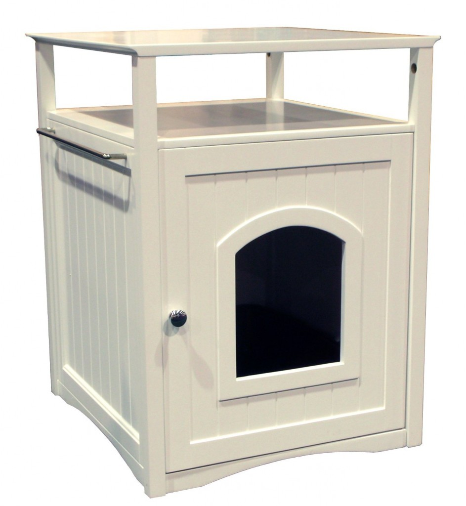 Litter Box End Table
