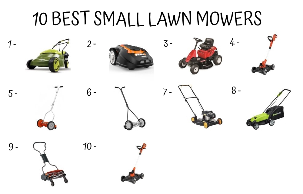 10 Best Small Lawn Mower