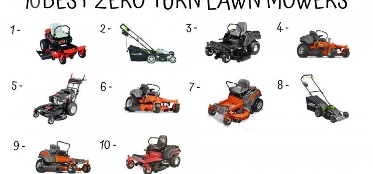 10 Best Zero Turn Lawn Mowers