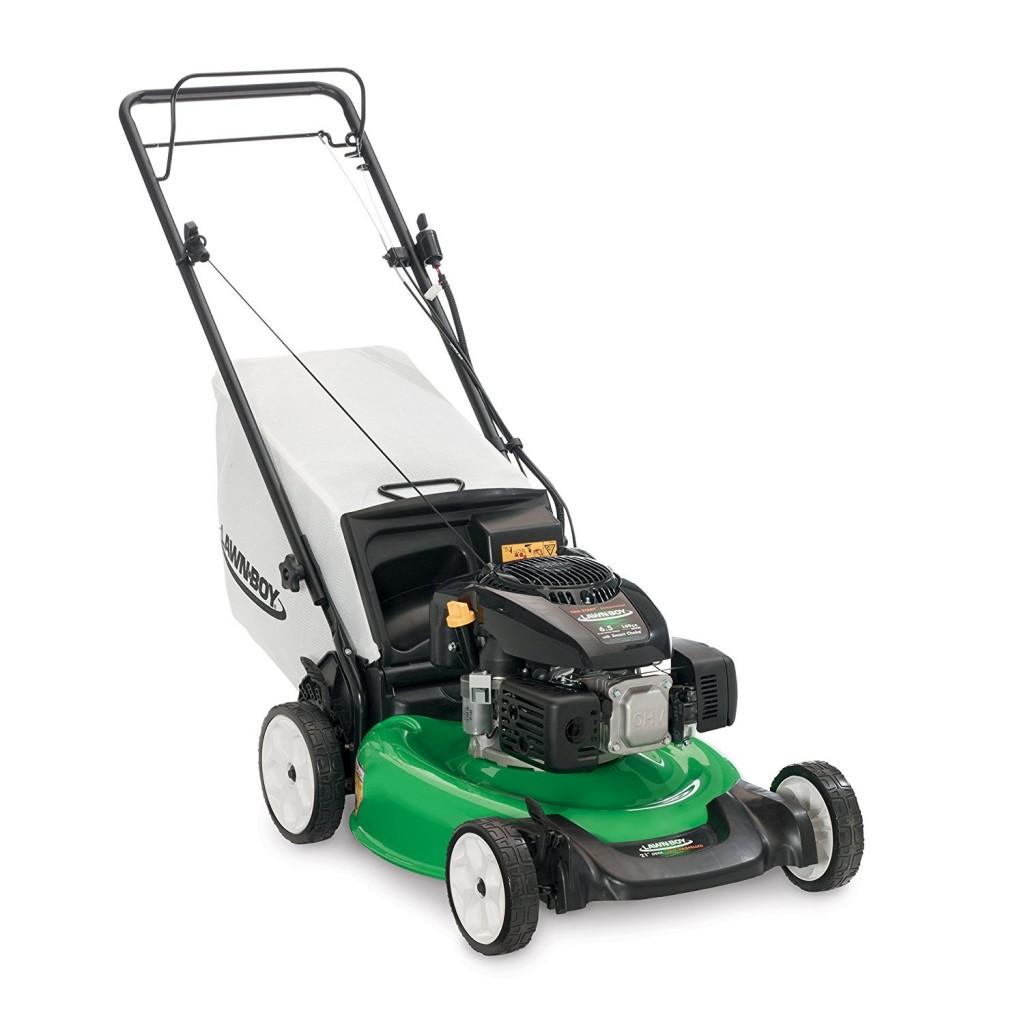Electric Start Gas Lawn Mower