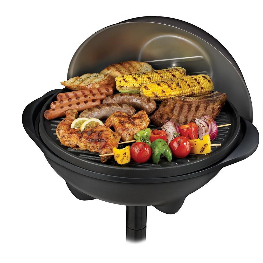George Foreman Ggr50b Indoor Outdoor Grill
