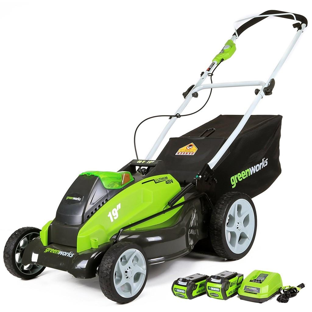 Push Lawn Mowers At Home Depot