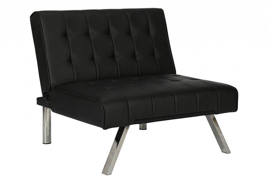 Cheap Black Leather Couch