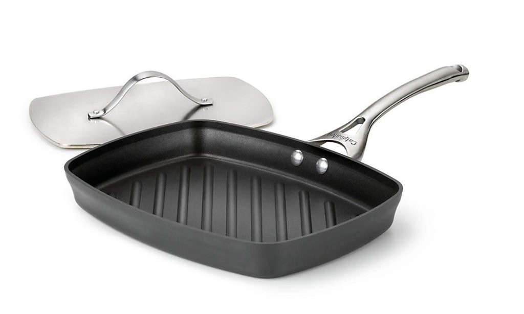 Grill Pan With Press