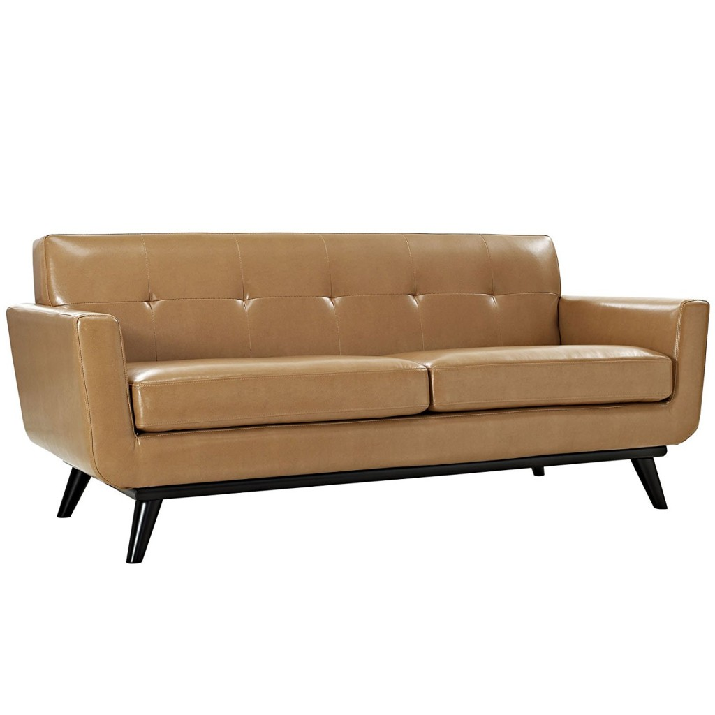 Light Brown Leather Couch