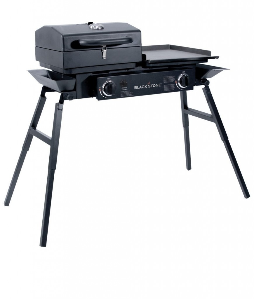 Outdoor Grill And Griddle Combo