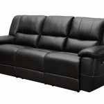 Small Black Leather Couch