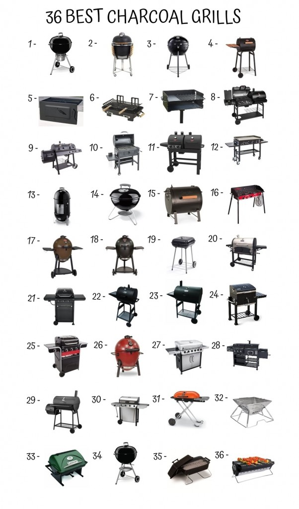 36 Best Charcoal Grills