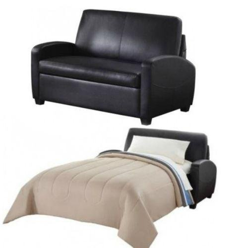 Alex's New Sofa Sleeper Black Convertible Couch