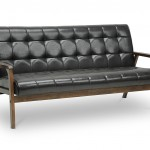 Baxton Studio Mid Century Masterpieces Sofa