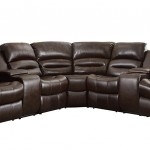 Homelegance 3 Piece Bonded Leather Sectional Reclining