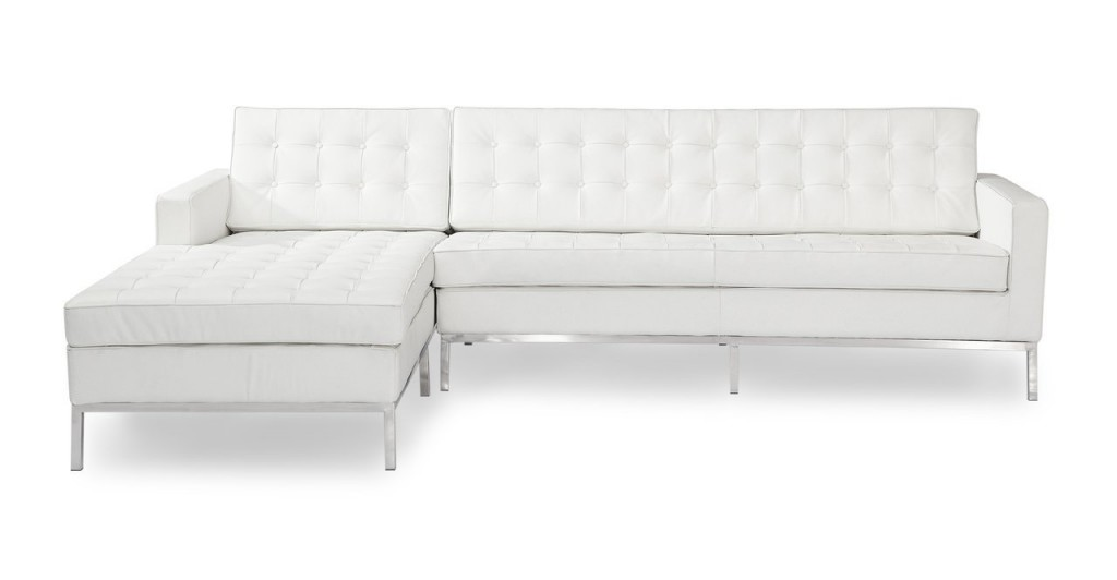 Kardiel Florence Knoll Style Left Sectional Sofa