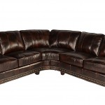 Lazzaro Leather WH 1317 31 32 9011B Anna Collection Leather Sofa