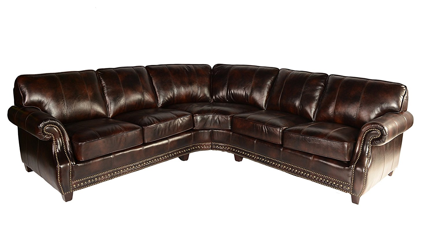 Leather Furniture Traveler Collection: Lazzaro Leather WH 1317 31 32 9011B Anna Collection