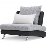Palms Modular Leather Sectional 1 Seater